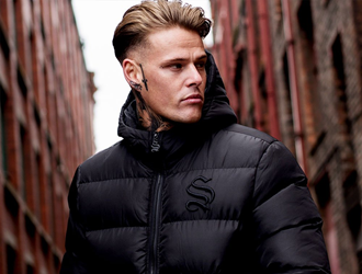 Outreach – Sinners – Male Clothing Trends 2018 - tracksuits, male clothing trends, male clothing, faux fur hoods, fashion