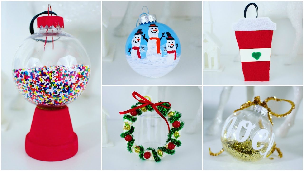 16 creative and easy diy christmas ornament ideas style motivation - Diy Christmas Decorations 2017