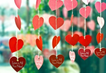 18 Lovely DIY Valentine's Day Home Decor Ideas - DIY Valentine's Day Home Decor Ideas, diy Valentine's day ideas, diy Valentine's day decorations, diy Valentine's day