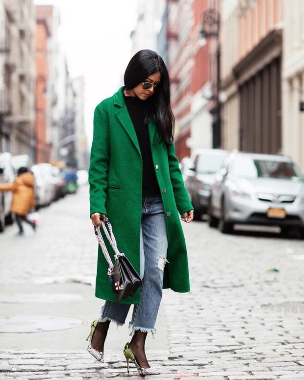 Bold Colors for Cold Winter Days: 15 Amazing Outfit Ideas