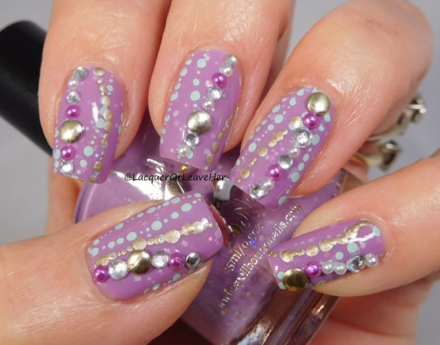 18 Sparkly Ideas For Chic Glitter Nail Art Part 1 Style Motivation