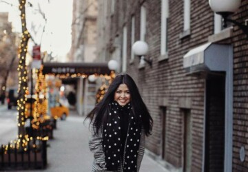 15 Stylish Outfits to Wear When You're Freezing - winter street style, winter outfit ideas, outfit for cold weather, Next-Level winter Outfits, Cold Weather Office Style