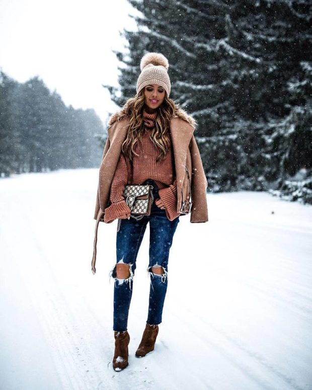 Take Your Winter Outfits to the Next Level: 16 Great Outfit Ideas