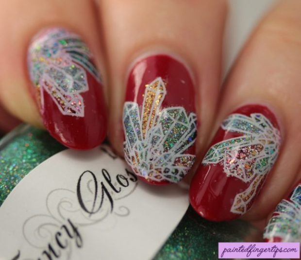 18 Sparkly Ideas for Chic Glitter Nail Art (Part 1)