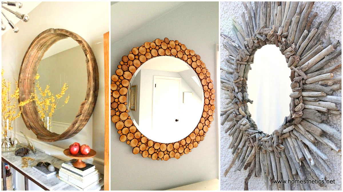 Diy home decor project ideas 14 creative mirrors to make for Home design ideas handmade