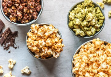 17 Creative Homemade Popcorn Recipes - recipes, popcorns, Popcorn Recipes, Homemade Popcorn Recipes, Homemade Popcorn