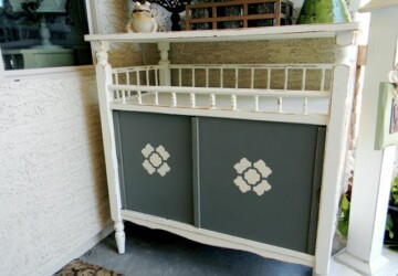 13 Creative DIY Ideas How to Repurpose Your Changing Table - Repurpose Your Changing Table, Repurpose Table, Repurpose, DIY Repurposing Ideas, DIY Recycled Products