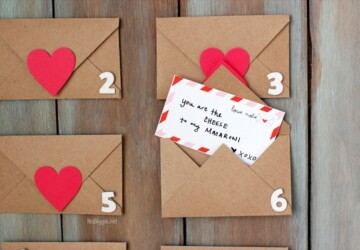 13 Easy Valentine's Day Paper Crafts to Make From the Heart - Valentine's Day Paper Crafts, valentine's day crafts, DIY Valentine's Day Crafts