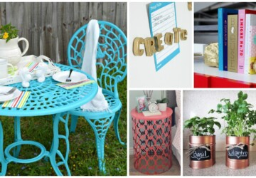 Makeover Projects: 18 Creative DIY Spray Paint Ideas - Spray Paint Ideas, spray paint, paint sprayer, Makeover Projects: 18 Creative DIY Spray Paint Ideas, Makeover Projects, makeover ideas, furniture makeover, diy spray projects, diy furniture makeover