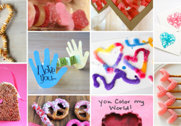 12 Easy Valentine's Day Crafts for Kids - Valentine's Day Crafts for Kids, valentine's day crafts, diy Valentine's day gifts for kids, DIY Valentine's Day Crafts for Kids, DIY Valentine's Day Crafts