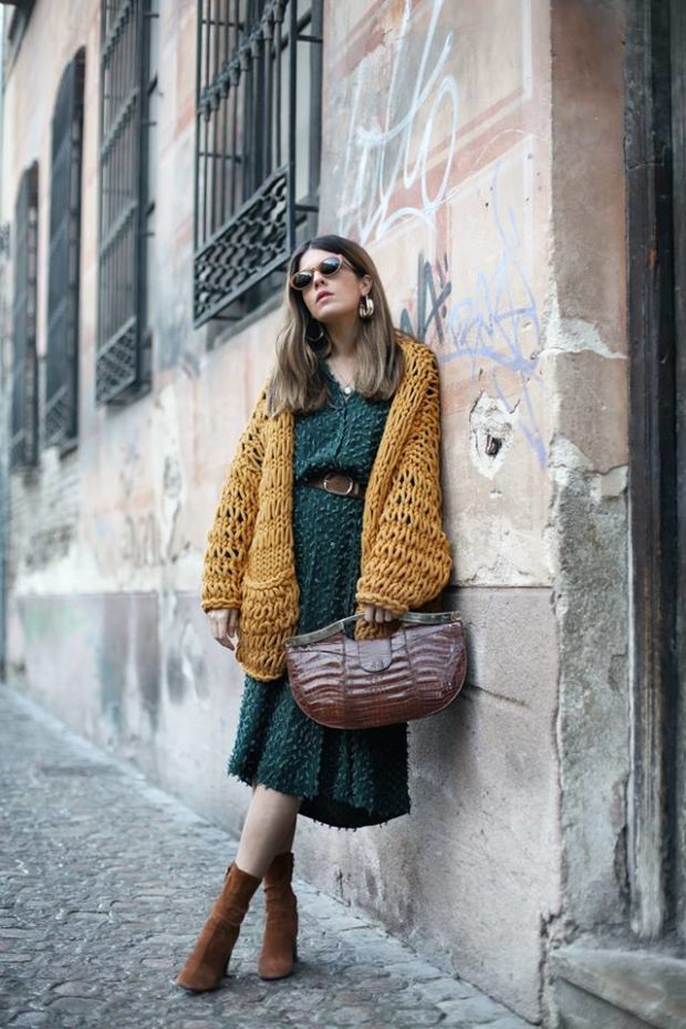 16 Street Style Outfit Ideas for All the Dress Lovers