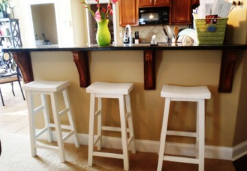 Trendy Furniture: 14 DIY Bar Stool Ideas - diy furniture hacks, diy furniture, DIY Bars, diy bar stool