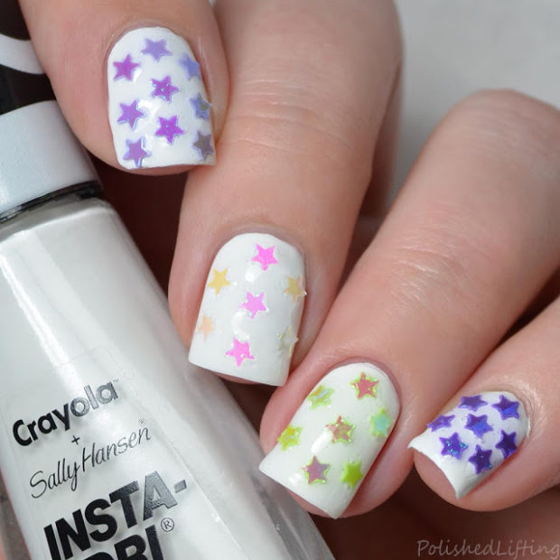 16 Sparkly Crystal Stamping Nail Art Ideas Style Motivation