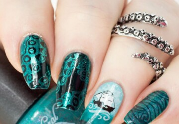 Mythical Creatures on your Nails: 17 Magical Nail Art Ideas - unique nails, Mythical Creatures nail designs, Mythical Creatures nail art, Mythical Creatures
