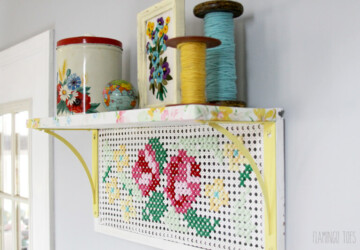 Easy Craft Projects: 14 Cross-Stitch Style DIY Ideas - Stitch, diy, Cross-Stitch Style DIY Ideas, Cross-Stitch, cross, crafts
