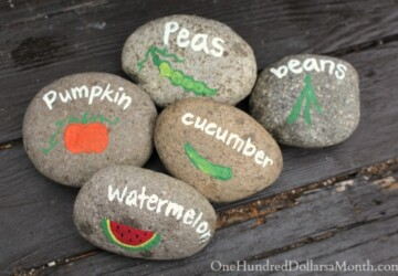 15 Creative DIY Plant Labels and Markers for Your Garden - DIY Planter Ideas, DIY Plant Labels and Markers, DIY Markers, diy garden projects, diy garden