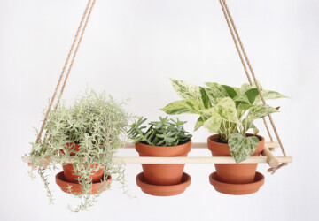 Spring Projects: 15 Easy DIY Hanging Planters - spring decor, diy spring home decor, DIY Planters, diy home decor, DIY Hanging Planters