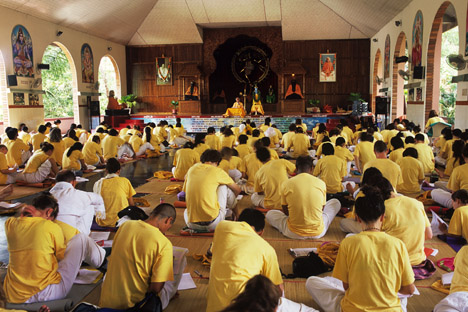 Top Yoga Retreats In India