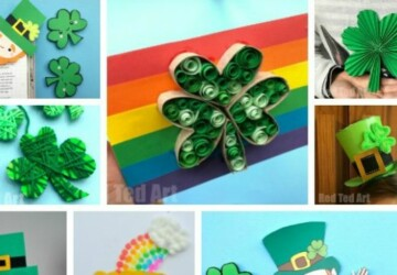15 Creative and Fun St. Patrick's Day Crafts For Kids (Part 1) - St. Patrick's Day Crafts and Food Ideas, St. Patrick's Day Crafts For Kids, St. Patrick's Day Crafts, Diy St. Patrick's Day Decorations, DIY St. Patrick's Day, Cute and Tasty St. Patrick's Day Dessert Ideas