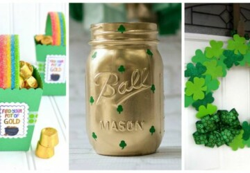 17 St. Patrick's Day Crafts and Food Ideas to make with Your Kids - St. Patrick's Day Food Ideas, St. Patrick's Day Crafts and Food Ideas, St. Patrick's Day Desserts, St. Patrick's Day Crafts, Diy St. Patrick's Day Decorations, DIY St. Patrick's Day