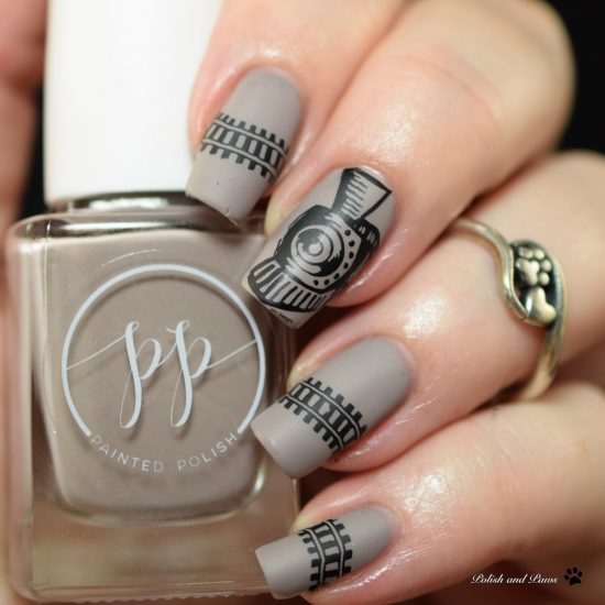 15 Cute Spring Stamping Nail Art Ideas