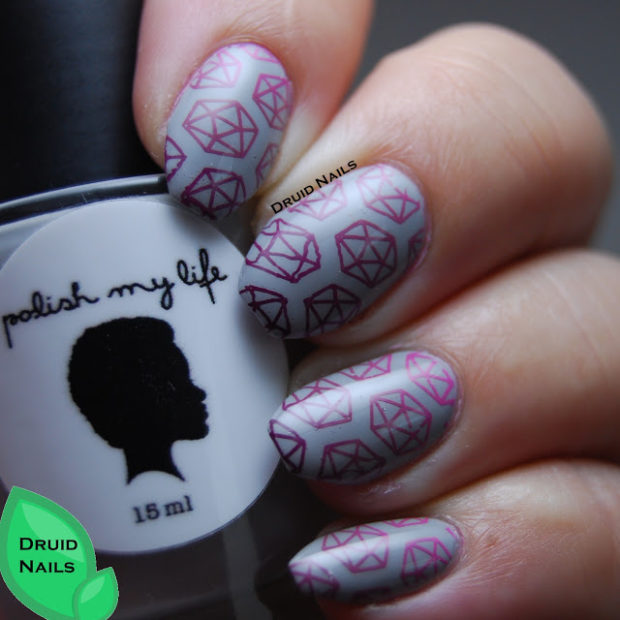 Great Stamping Nail Art Ideas for Unique Spring Nail Design