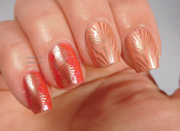 15 Unique Stamping Nail Art Ideas