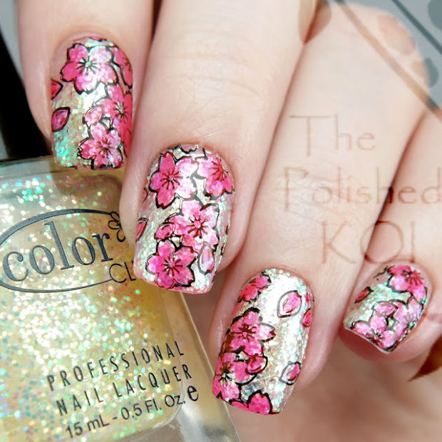 15 Creative Stamping Nail Art Ideas