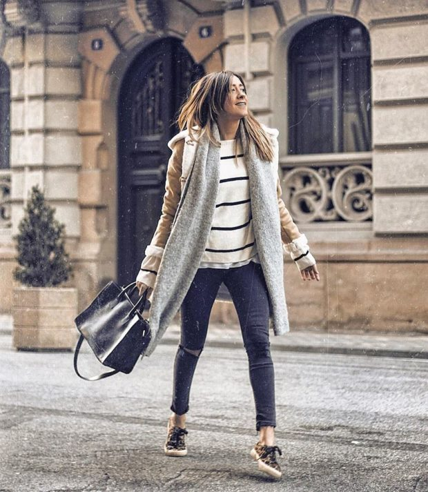 16 Transitional Winter To Spring Outfit Ideas