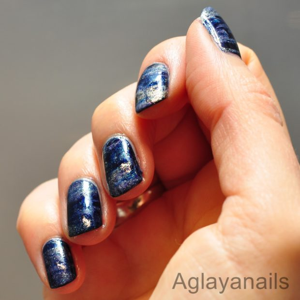 Creative Nail Art Ideas Made On A Mat and Plastic
