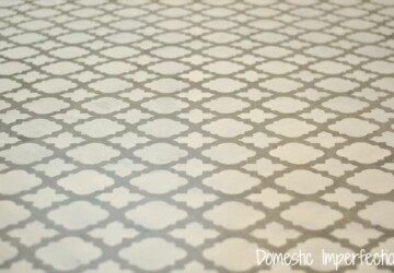 Home Decor: DIY Stenciled Floor Projects - Stenciled Floor, DIY Stenciled Floor Projects, DIY Stenciled Floor, DIY Home Decor Projects, diy home decor