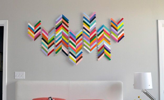14 Easy Diy Art Projects For Your Walls Style Motivation