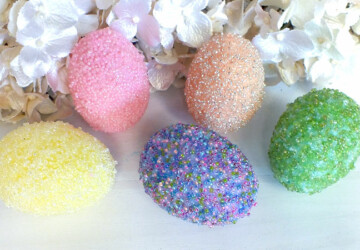 18 Simple and Easy DIY Ways to Decorate Easter Eggs - DIY Easter Eggs Decorations, DIY Easter Eggs, DIY Easter Egg Decor Ideas, diy Easter
