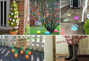 14 DIY Outdoor Easter Decorations - Outdoor Easter Decorations, DIY Outdoor Easter Decorations, DIY Outdoor Easter, diy Easter decorations, diy Easter