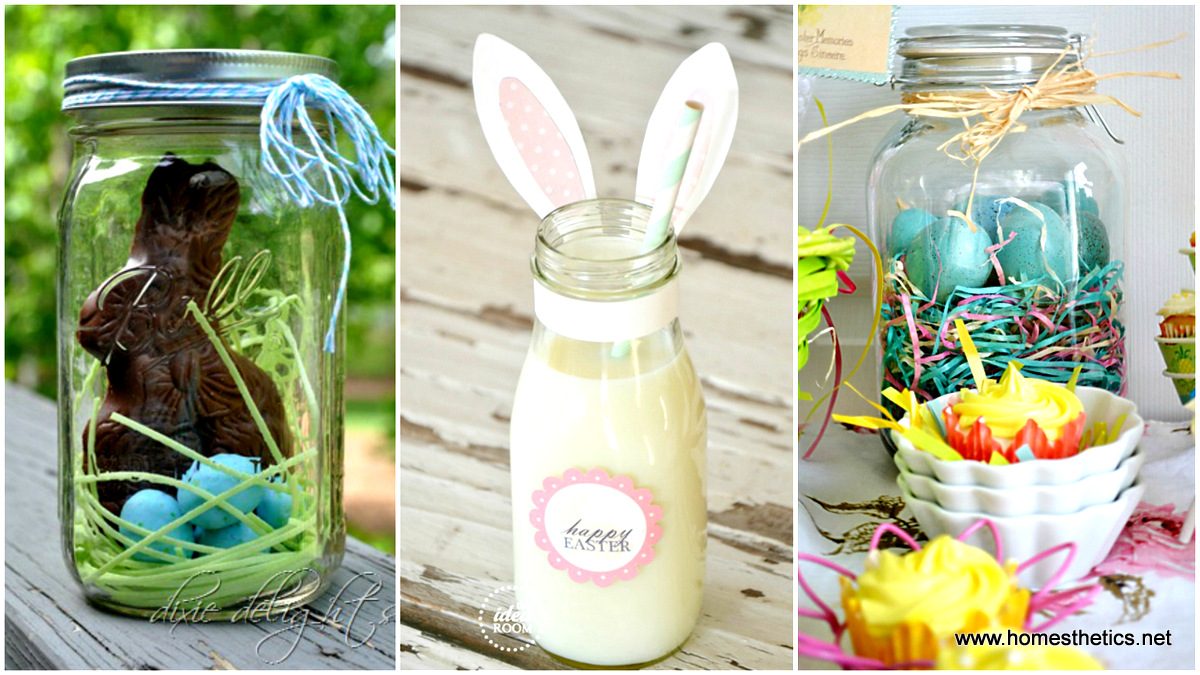 16 Diy Mason Jar Easter Projects
