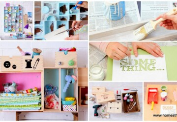 15 Great DIY Organization and Storage Projects - DIY Storage Ideas, diy storage, diy organization projects, DIY Organization Ideas, diy organization hacks