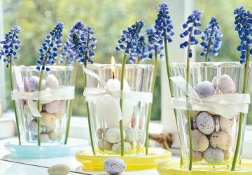 16 DIY Easter Decorations That Bring All the Spring Cheer - diy spring home decor, diy spring, diy Easter decorations, DIY Easter Decor Projects, DIY Easter Centerpiece, diy Easter