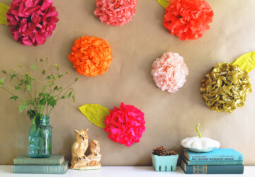 DIY Spring Home Decor: 13 Easy Floral Projects - florals, Floral Projects, floral decor, diy spring home decor, DIY Home Decor Projects