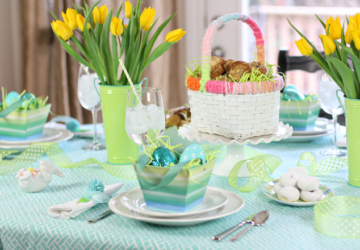 Prettiest Easter Tablescape Ideas to Inspire You - Tablescape Ideas, Tablescape, Easter Tablescape Ideas, Easter Tablescape, diy Easter decorations, DIY Easter Decor Projects, DIY Easter Centerpiece