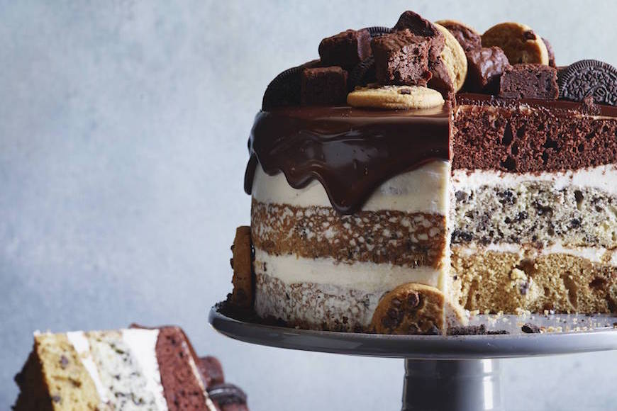 16 Creative And Tasty Layered Cookie Cake Recipes And