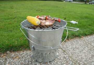 Cheap and Easy Ideas for DIY Barbecue Grills - outdoor barbecue, Grills, DIY Grills, DIY Barbecue Grills, DIY Barbecue, Barbecue Grills, backyard barbecue