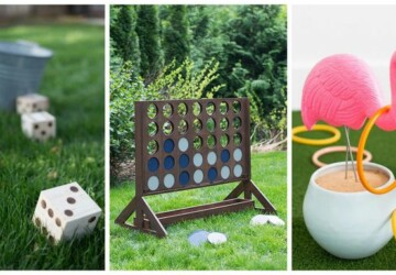 10 Giant Yard Games You Can DIY - Yard Games You Can DIY, diy yard game, diy outdoor furniture, diy outdoor, diy games