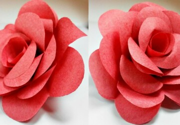 15 Diy Paper Flower Ideas - Paper Flower Ideas, Paper Flower Crafts, diy paper flowers, Diy Paper Flower Ideas