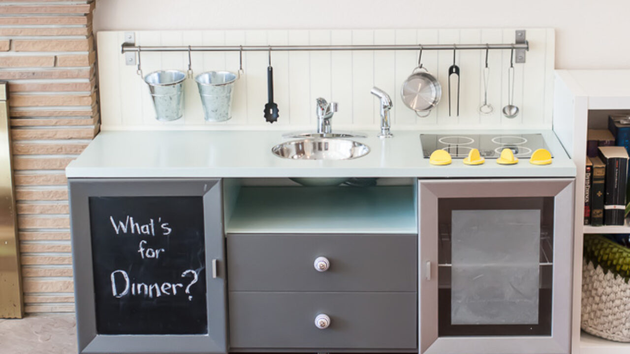 Great Diy Play Kitchen Ideas And Tutorials