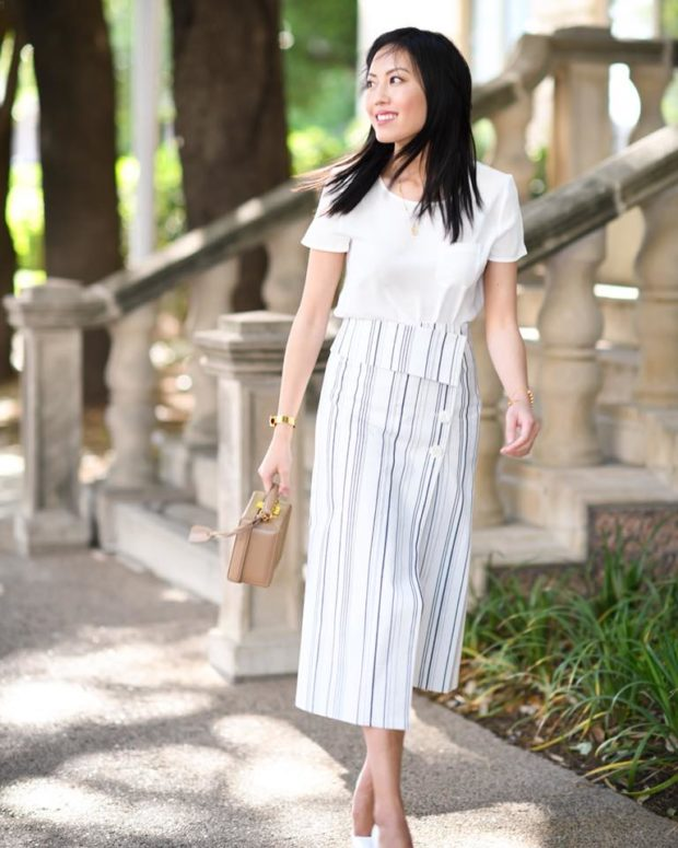 Spring 2018 Skirt Trends   Maxi and  Midi Skirt Styles