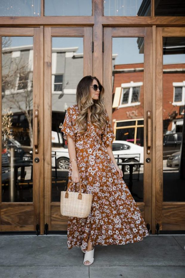 18 Floral Maxi Dresses to Wear this Spring and Summer