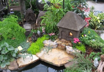 15 DIY Miniature Fairy Garden Ideas - DIY Miniature Fairy Garden, diy garden, DIY Fairy Garden
