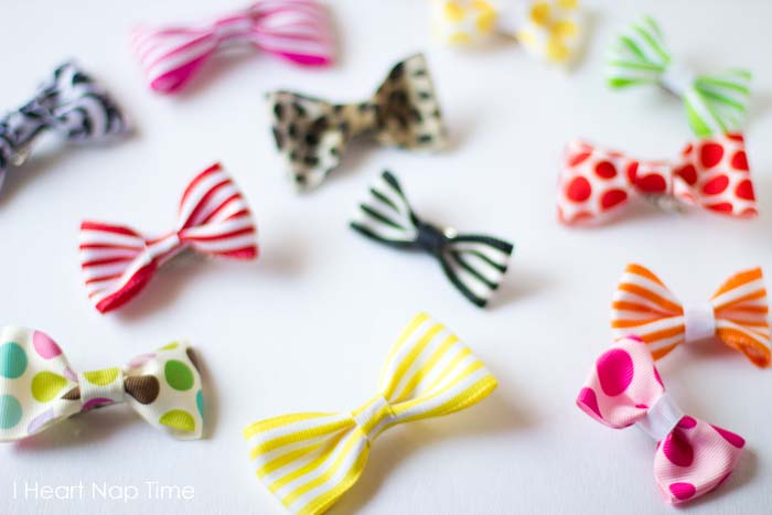 Diy Kids Fashion Project 20 Cute And Easy To Make Hair Bows