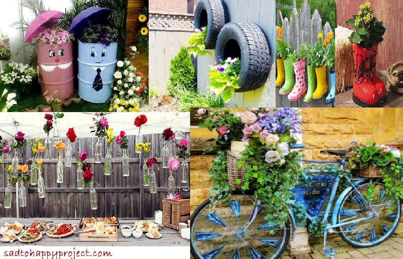 Cheap and Easy DIY Garden Decor Projects - Style Motivation on Easy Diy Garden Decor id=34108