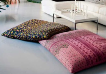 15 Comfy DIY Floor Pillows and Cushions - floor cushions, diy pillow, diy home decor, DIY Floor Pillows, diy Cushions, cushions